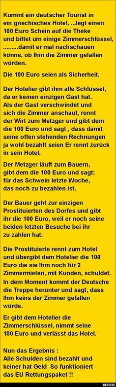 Kommt ein deutscher Tourist in ein griechisches Hotel.. | DEBESTE.de, Lustige Bilder, Sprüche, Witze und Videos
