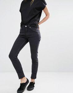 Weekday | Weekday Tuesday Mid Rise Slim Leg Jeans at ASOS