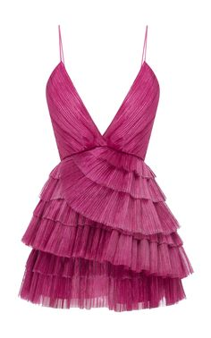 Shop Don't Be Shy Pleated Shell Dress . A part of the brand's Resort collection, Alice McCall's pleated mini dress has a plunging V-neckline. Hoco Dresses, Dance Dresses, Homecoming Dresses, Dress Outfits, Dress Up, Fashion Dresses, Formal Dresses, Dior Dress, Ankara Fashion