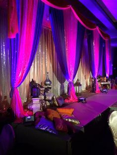 Moroccan Themed Decor we Did for the Make A Wish Foundation Ottawa Canada's Annual Event Nov 2013.