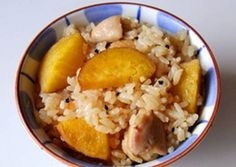 Rice with Sweet Potato and Chicken Recipe -  How are you today? How about making Rice with Sweet Potato and Chicken?
