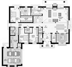 Precast Concrete, Concrete Wall, Royal Garden, Modern House Plans, House Layouts, Houzz, Planer, Projects To Try, Sweet Home
