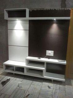 Lcd Wall Design, Lcd Unit Design, Wall Unit Designs, Living Room Tv Unit Designs, Tv Stand Designs, Modern Tv Wall Units, Modern Wall, Small Tv Unit, Lcd Units