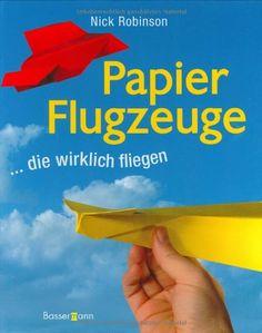 Papier Flugzeuge Buch