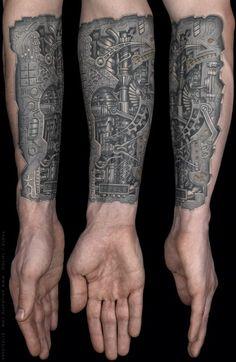 Arm Tattoo: Robotic Arm   Tattoo Design Gallery - 101tattoos