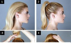 How To Make A Messy Bun With Long Straight Hair
