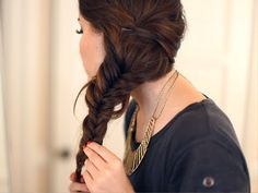 LEAF How To: The Messy Fishtail Braid