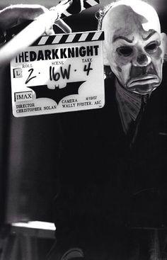 Heath Ledger as The Joker during the filming of The Dark Knight The Dark Knight Trilogy, The Dark Knight Rises, Batman The Dark Knight, Der Joker, Heath Ledger Joker, Joker Art, Batman Begins, Christopher Nolan, Christian Bale