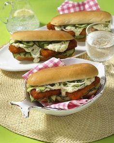 Unser beliebtes Rezept für Fischstäbchen Hot Dog und mehr als 55.000 weitere kostenlose Rezepte auf LECKER.de.