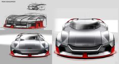 Audi Eins How will electric motorsport develop by the year 2039? This project aims to answer that question, taking inspiration from the Audi 90 IMSA GTO racing car that will be 50 years old in 2039. The electric-powered vehicle is designed to race on a ne…