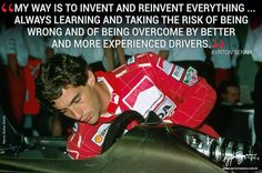 Senna, triple world champion, 1991!