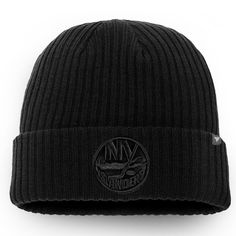 dbce19ba9fc798 Men's New York Islanders Fanatics Branded Black Team Haze Core Cuffed Knit  Hat, Sale: $13.49 - You Save: $4.50