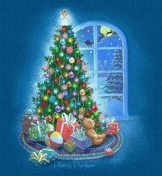 penny parker art | ... Designs~Linkware~Penny Parker~Holidays~Christmas~Christmas Tree