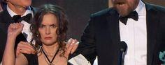 'Stranger Things': la reacción de Winona Ryder en los SAG Awards ha revolucionado internet  Noticias de interés sobre cine y series. Estrenos trailers curiosidades adelantos Toda la información en la página web.