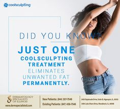 We want to let you in on a little secret. #CoolSculpting is a non-invasive way to freeze away fat for good, with results in just a single session. Want to learn more? Give us a call at (844) 307-7546 #takeyourselffurther #algonquin #IL #dermatologyspecialistsofillinois Cool Sculpting, Woodstock, Freeze, Did You Know, Illinois, Fat, Learning, Teaching, Education