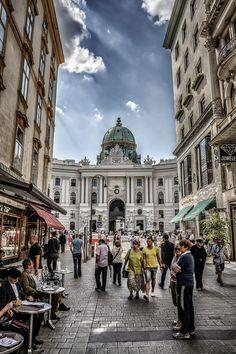 Streets of Vienna, Austria