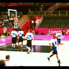 adamandre's photo  of London 2012 Basketball Arena on Instagram