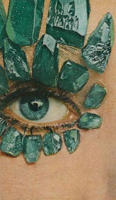 crystal eyes.