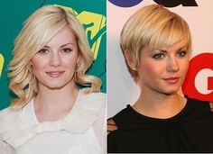 Cute pixie cut! She looks better with short hair!