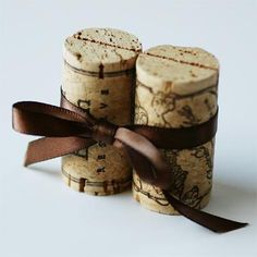Wine Cork Place Card Holders : Corkey Creations