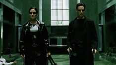 The Matrix Trinity and Neo Movies Showing, Movies And Tv Shows, Cyberpunk Movies, The Matrix Movie, Matrix Reloaded, Carrie Anne Moss, Keanu Reaves, Films Cinema, Action Film