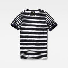 G-Star RAW #stripe #tee Prebase T-shirt