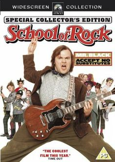 """School of Rock"" (2004) *Comedy by Richard Linklater--starring Jack Black and Joan Cusack"