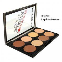 LA Colors I Heart Makeup Contour Palette C30352