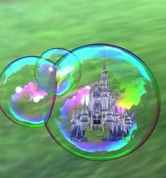 If I could put magic in a bubble... I would send magic floating