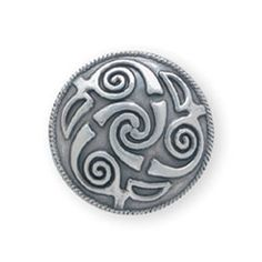 "Lindesfarne Spiral Concho 1"" (2.5 cm)"
