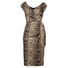 Hourglass Animal Print Dress