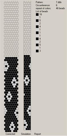 6 around tubular bead crochet rope pattern Bead Crochet Patterns, Bead Crochet Rope, Crochet Designs, Beading Patterns, Beaded Crochet, Crochet Beaded Bracelets, Beaded Bracelet Patterns, Minecraft Beads, Peyote Beading