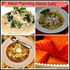 Meal Planning Made Easy October 5th.  Some prepwork and slow cooking on Saturday or Sunday makes for an easy week of 15 minute meals!