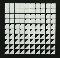 ohne Titel ( Komposition in Schwarz und Weiß )