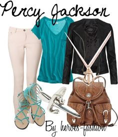 """Percy Jackson: Son of Poseidon, Savior of Olympus"" by heroes-fashion ❤ liked on Polyvore"