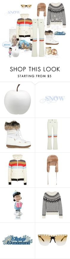 """""""Sooo Munich- the style of my hometown. Survive a day in the mountains."""" by juliabachmann ❤ liked on Polyvore featuring SNOWMASS, CB2, Moon Boot, Perfect Moment, River Island, TSE and Prada"""