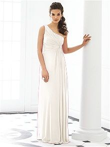 After Six Bridesmaid Dress 6651    #white/ivory #bridesmaid #dress