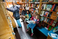 Parnassus Books, a popular independent bookstore in Nasvhille, has added a bookmobile to visit food truck rallies, farmers' markets and more, taking its products to the customers.