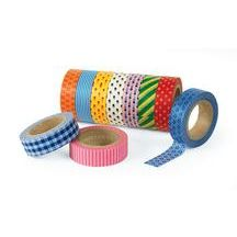 Printed Craft Tape - Set of 10 Rolls  They can't get enough tape at this age