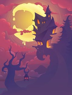 Create a Mysterious Halloween Scene in Adobe Illustrator