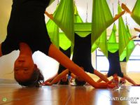 AntiGravity Yoga - Skirted Star Pose