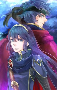 Lucina and Ike By gimmemycereal on pixiv! Great stuff!