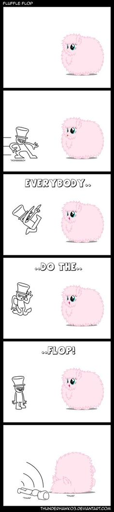 The flufflepuff flop!!!