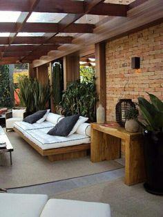 25 Ideas Pergola Design Plans Home Terrasse Design, Balkon Design, Pergola Designs, Patio Design, House Design, Garden Design, Backyard Furniture, Backyard Patio, Pergola Patio
