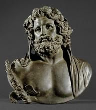 Bust of Jupiter   1   - 2nd Century AD, after Greek model of the 2nd Half of the 4th Century. BC  Roman