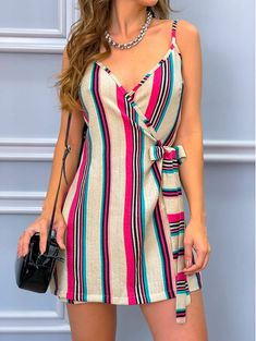 Super Moda Vestidos Cortos Elegantes Ideas - New Trend Casual Summer Dresses, Sexy Dresses, Cute Dresses, Dress Outfits, Short Dresses, Casual Outfits, Summer Outfits, Cute Outfits, Fitted Dresses