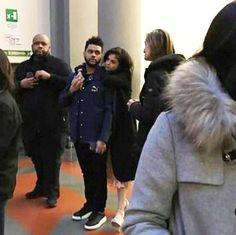 Selena Gomez & The Weeknd, Italy, Jan. 27, 2017 (Courtesy of Twitter)