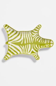 zebra dish | jonathan adler