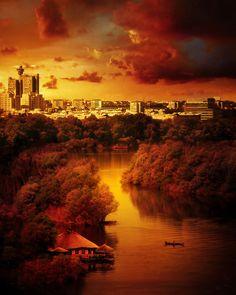 """Belgrade Sunset... """"Zajdi,zajdi"""" by Dragan Todorovic"""