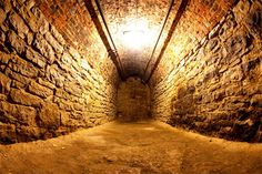 A tunnel part of the historic underground railroad... haunted?